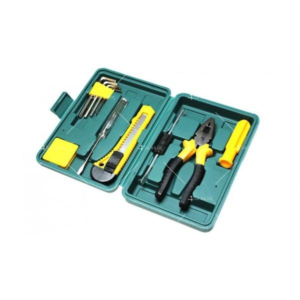 Компактна кутия за автомобили с 11 вида инструменти CASE1 6