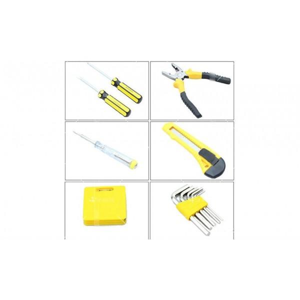 Компактна кутия за автомобили с 11 вида инструменти CASE1 7