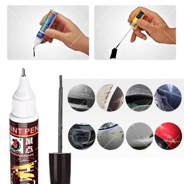 Автоматичен маркер (писалка) за драскотини и пукнатини по автомобилната броня 1