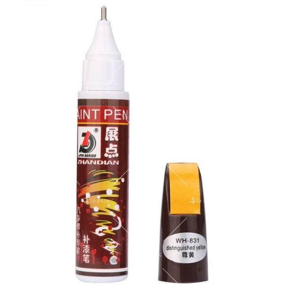 Автоматичен маркер (писалка) за драскотини и пукнатини по автомобилната броня 4