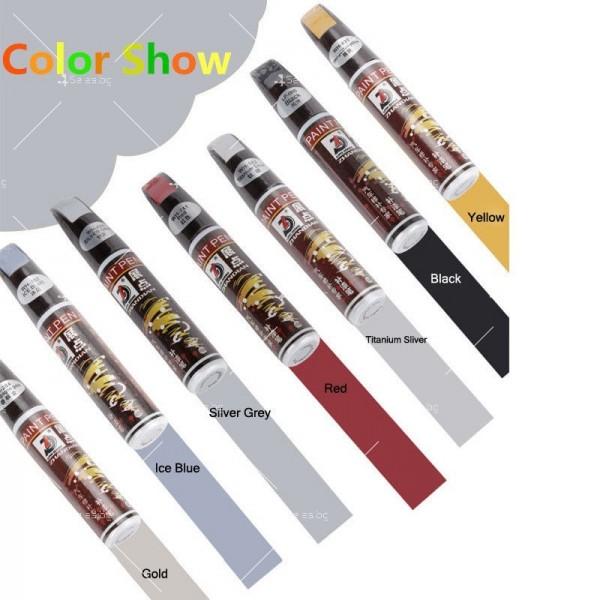 Автоматичен маркер (писалка) за драскотини и пукнатини по автомобилната броня 5