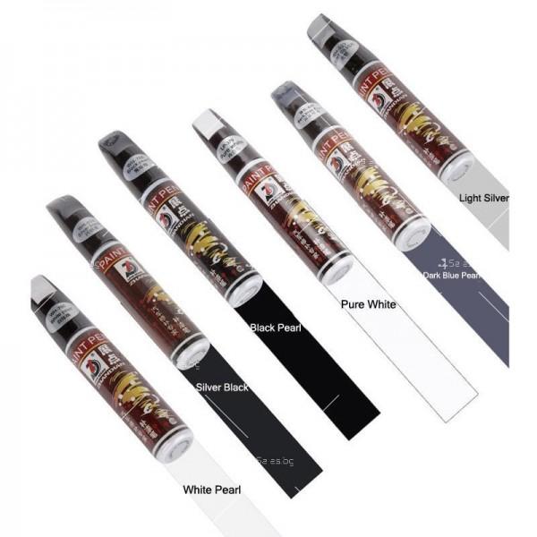 Автоматичен маркер (писалка) за драскотини и пукнатини по автомобилната броня 6