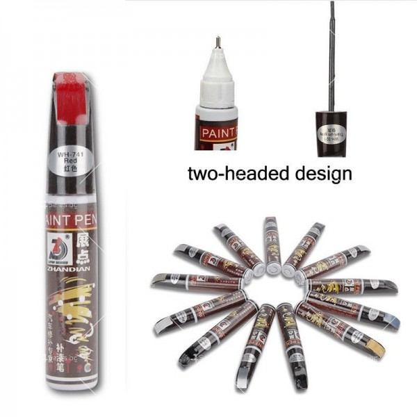 Автоматичен маркер (писалка) за драскотини и пукнатини по автомобилната броня 7