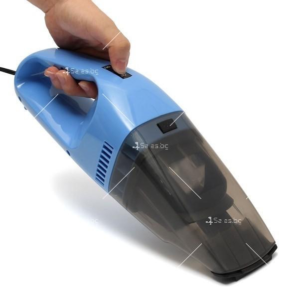 Изключително мощна и компактна 100 W прахосмукачка за автомобил AUTO CLEAN3 11