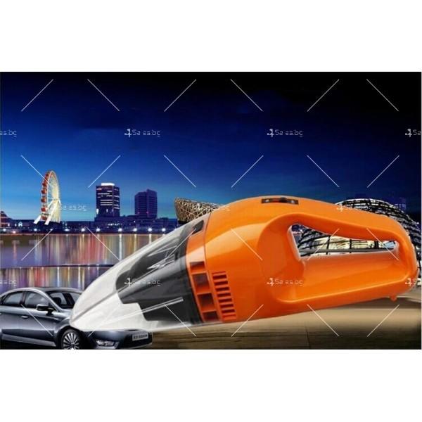 Изключително мощна и компактна 100 W прахосмукачка за автомобил AUTO CLEAN3 14