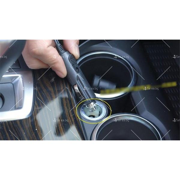 Изключително мощна и компактна 100 W прахосмукачка за автомобил AUTO CLEAN3 16