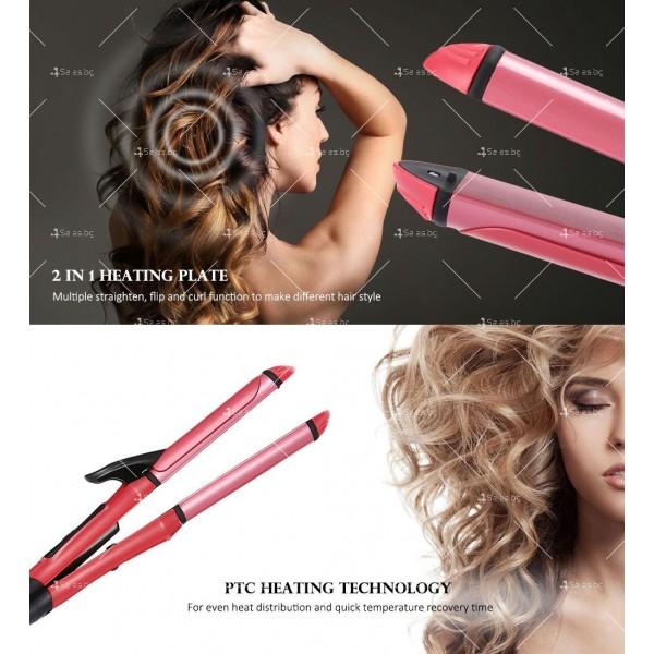 Красива и изящна мини преса за коса в различни цветове TV138 15