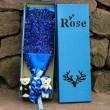 Букет от рози с влюбени мечета изработен от сапун BUKET33 4