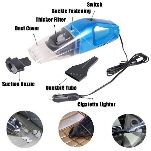 Портативна прахосмукачка за сухо и мокро почистване 75W,AUTO CLEAN-3 2