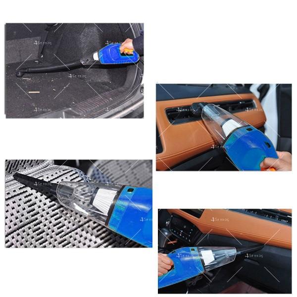 Портативна прахосмукачка за сухо и мокро почистване 75W,AUTO CLEAN-3 10