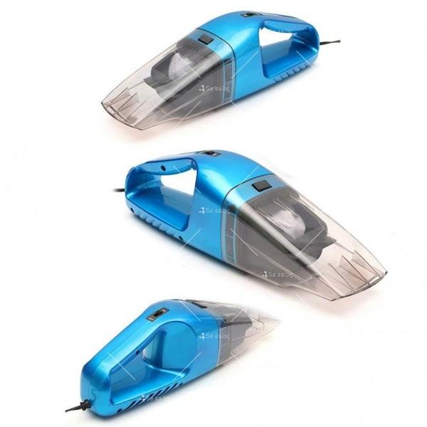 Портативна прахосмукачка за сухо и мокро почистване 75W,AUTO CLEAN-3 11