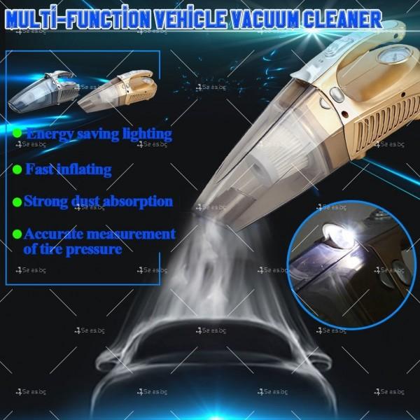 Супер мултифункционална 100W автомобилна прахосмукачка 4 в 1,AUTO CLEAN-5 2