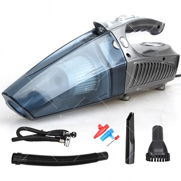 Супер мултифункционална 100W автомобилна прахосмукачка 4 в 1,AUTO CLEAN-5 3