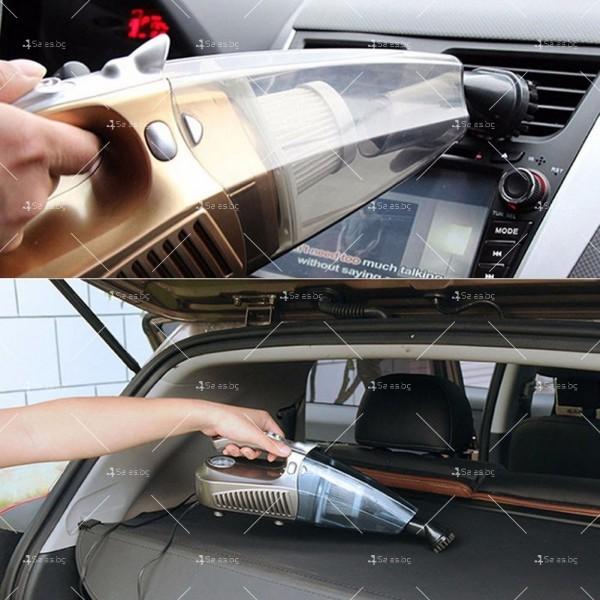 Супер мултифункционална 100W автомобилна прахосмукачка 4 в 1,AUTO CLEAN-5 12