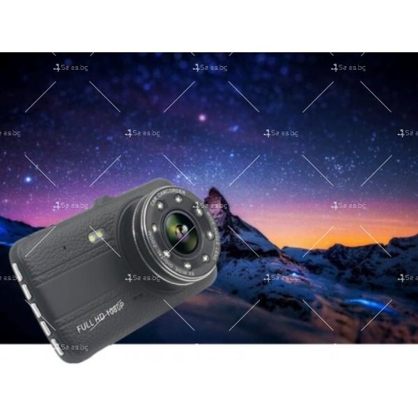 Видеорегистратор с 4 инчов екран и 170° градусов ъгъл и задна камера AC73B 2