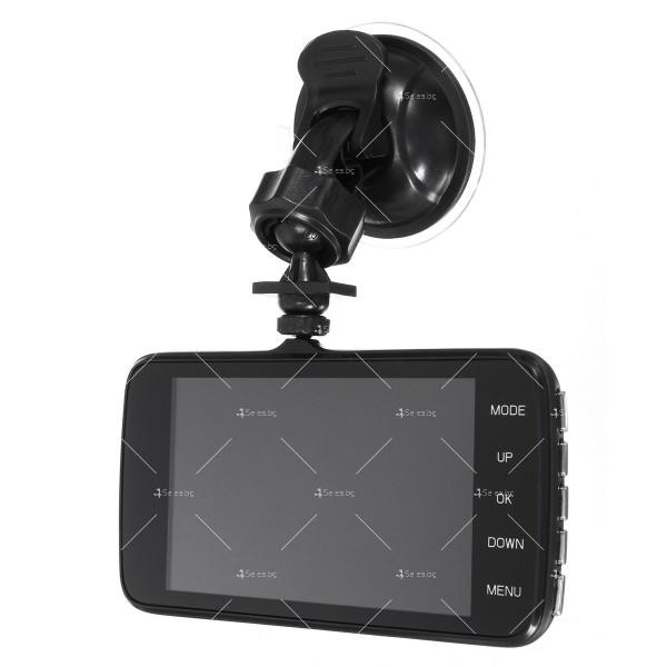 Видеорегистратор с 4 инчов екран и 170° градусов ъгъл и задна камера AC73B 3