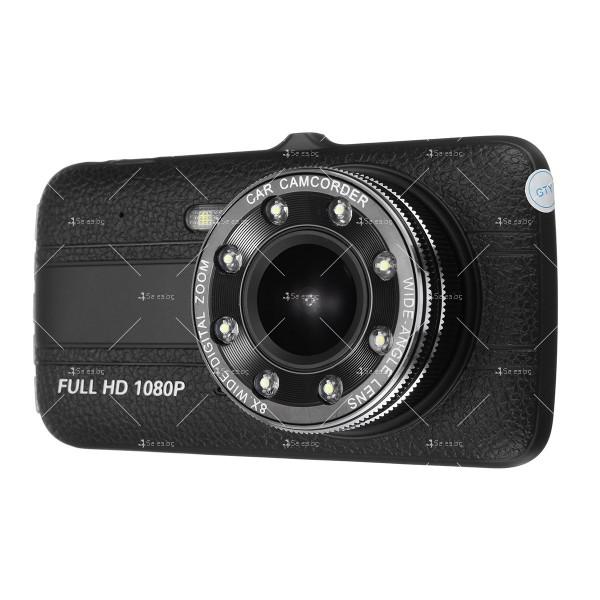 Видеорегистратор с 4 инчов екран и 170° градусов ъгъл и задна камера AC73B 14