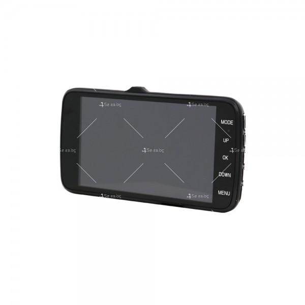 Видеорегистратор с 4 инчов екран и 170° градусов ъгъл и задна камера AC73B 20