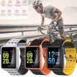 модерен и елегантен водоустойчив смарт часовник с цветен екран и Bluetooth SMW38 26