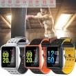 модерен и елегантен водоустойчив смарт часовник с цветен екран и Bluetooth SMW38 15