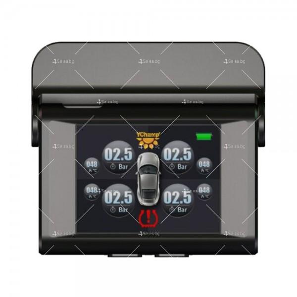 TPMS система за мониторинг на налягането в гумите на автомобили GUMI ALARM2 4