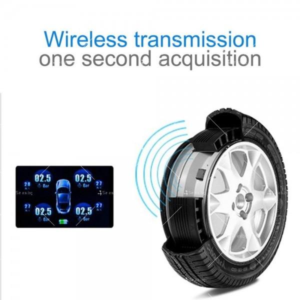 TPMS система за мониторинг на налягането в гумите на автомобили GUMI ALARM2 5