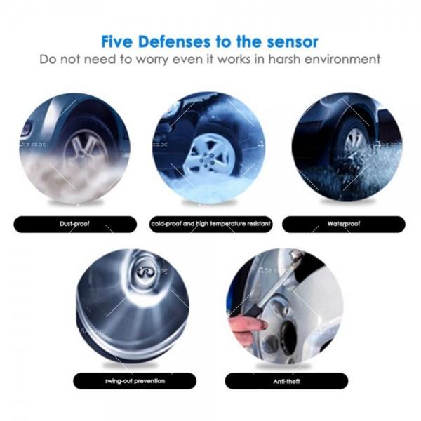 TPMS система за мониторинг на налягането в гумите на автомобили GUMI ALARM2 13