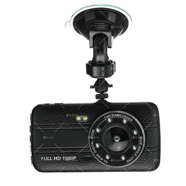 FULL HD Видеорегистратор за автомобил с подобрено нощно заснемане и 2 лещи AC73 1