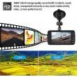 FULL HD Видеорегистратор за автомобил с подобрено нощно заснемане и 2 лещи AC73 2