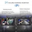FULL HD Видеорегистратор за автомобил с подобрено нощно заснемане и 2 лещи AC73 6