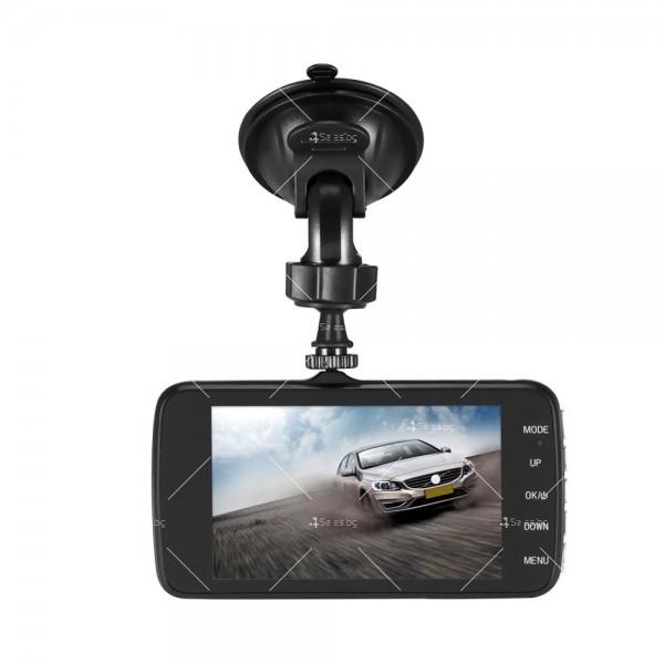 FULL HD Видеорегистратор за автомобил с подобрено нощно заснемане и 2 лещи AC73 12