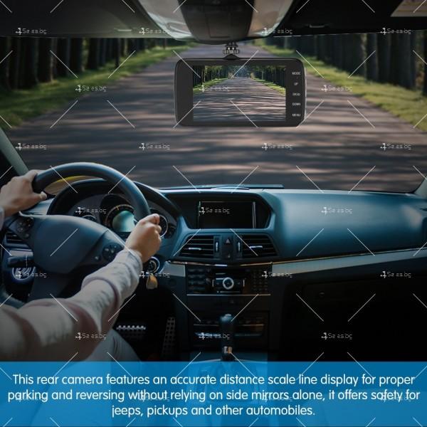 FULL HD Видеорегистратор за автомобил с подобрено нощно заснемане и 2 лещи AC73 15