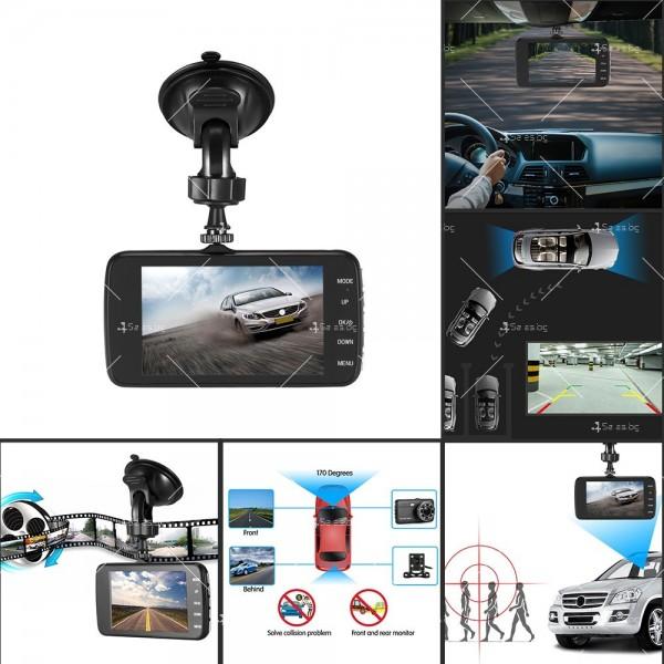 FULL HD Видеорегистратор за автомобил с подобрено нощно заснемане и 2 лещи AC73 18