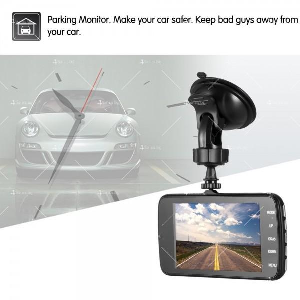 FULL HD Видеорегистратор за автомобил с подобрено нощно заснемане и 2 лещи AC73 19