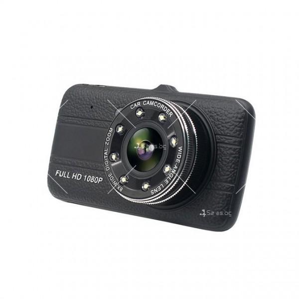 FULL HD Видеорегистратор за автомобил с подобрено нощно заснемане и 2 лещи AC73 20