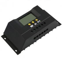 Регулатор за 20-амперови зарядни с монитор и температурен датчик