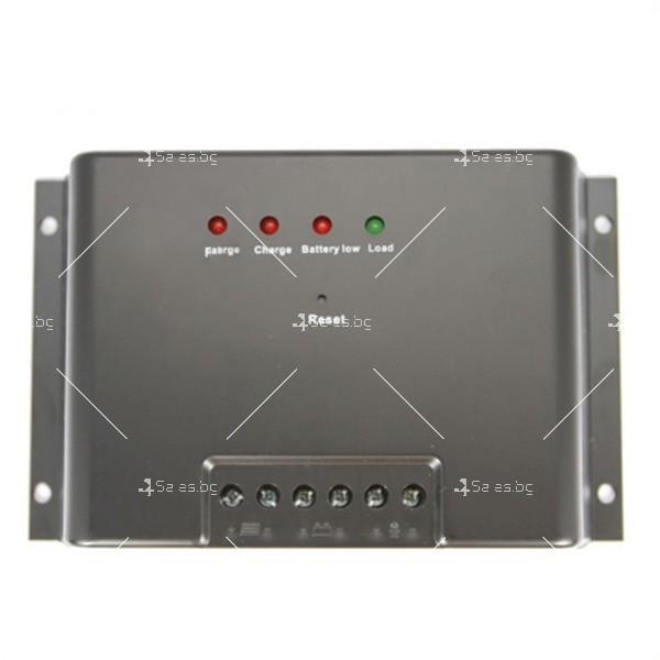 10-амперов MPPT контролер 1