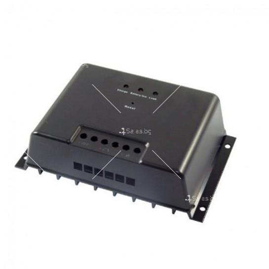 10-амперов MPPT контролер