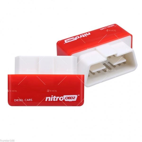 Чип тунинг NitroOBD2 за увеличаване на мощността на автомобилния двигател CHIP 2 8