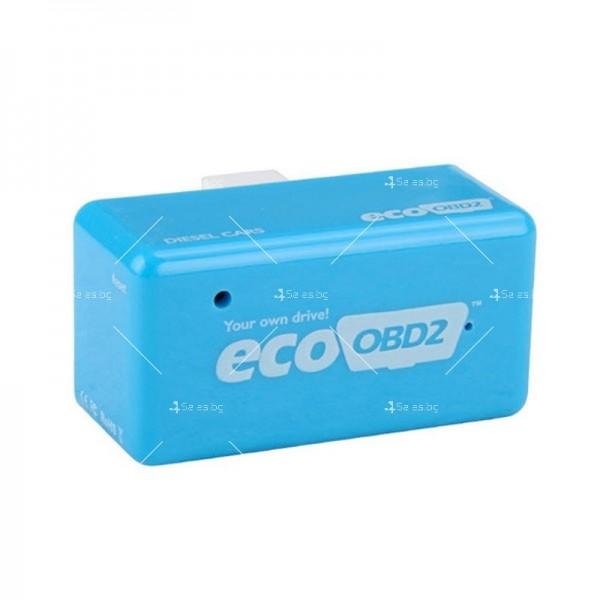 Икономичен чип EcoOBD2 за дизелови автомобили за намаляване на разхода CHIP 4 6