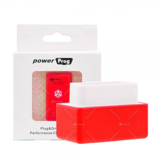 Чип Plug и Power Prog NitroOBD2 Eco за увеличаване на мощността в двигателя CHIP5 6