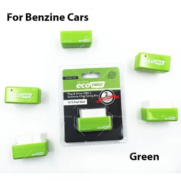 Чип EcoOBD2 за бензинови автомобили за намаляване на разхода на гориво CHIP 3 3