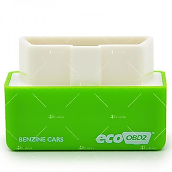 Чип EcoOBD2 за бензинови автомобили за намаляване на разхода на гориво CHIP 3 4