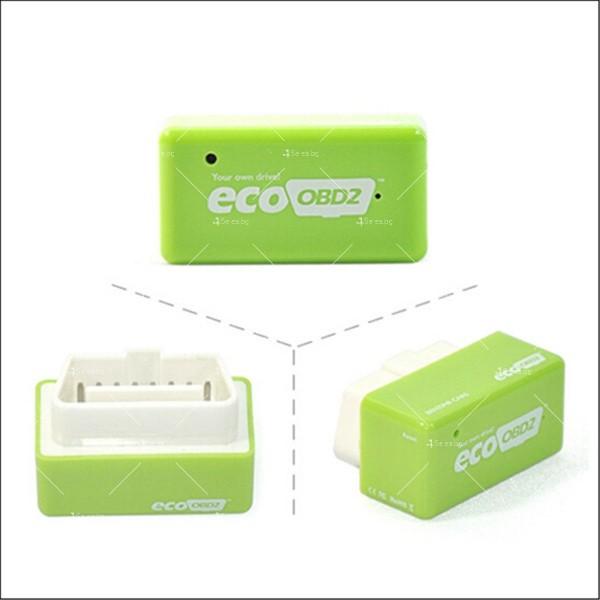 Чип EcoOBD2 за бензинови автомобили за намаляване на разхода на гориво CHIP 3 12