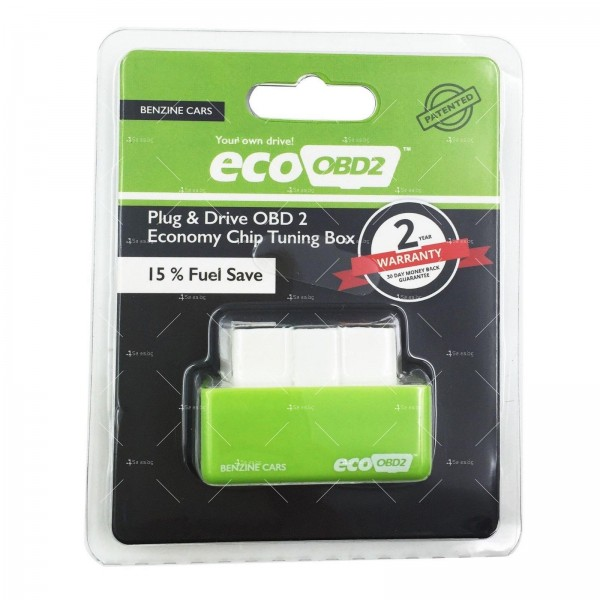 Чип EcoOBD2 за бензинови автомобили за намаляване на разхода на гориво CHIP 3 14