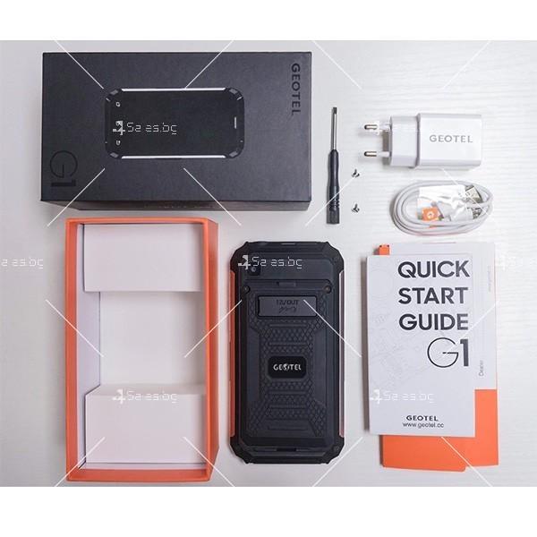 Geotel G 1 - смартфон и пауър банка в едно 1