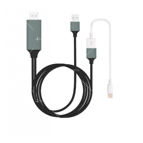 Преходник тип-С за Android и iPhone към HDMI CA111 2
