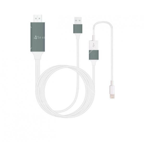 Преходник тип-С за Android и iPhone към HDMI CA111 3