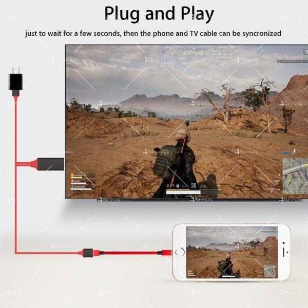 Преходник тип-С за Android и iPhone към HDMI CA111 20