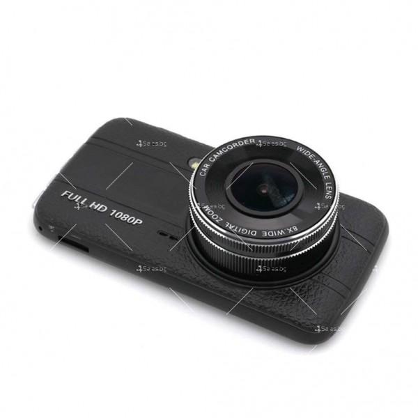 Скрита видео камера за кола с подобрен нощен запис AC74 6